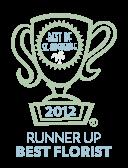Best of St. Augustine 2012 Runner Up Best Florist