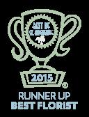 Best of St. Augustine 2015 Runner Up Best Florist